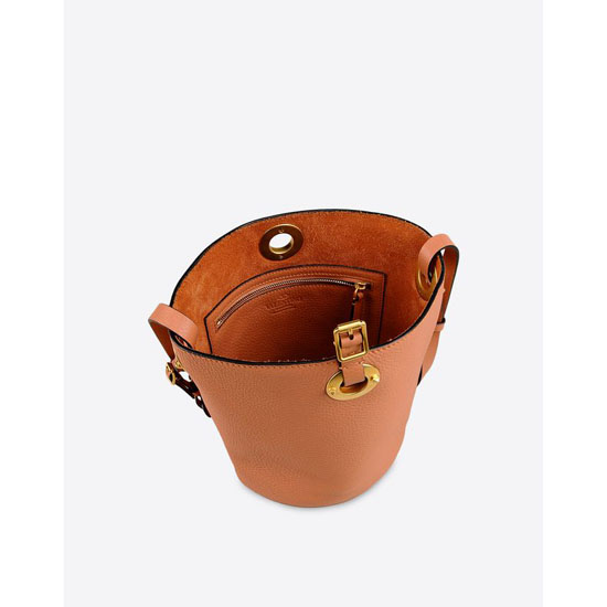 VALENTINO CALFSKIN BUCKET BAG IW0B0916VSF A06 Outlet Online