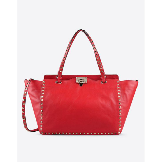 VALENTINO ROCKSTUD MEDIUM TOTE IW2B0970BOL-F28 Outlet Online