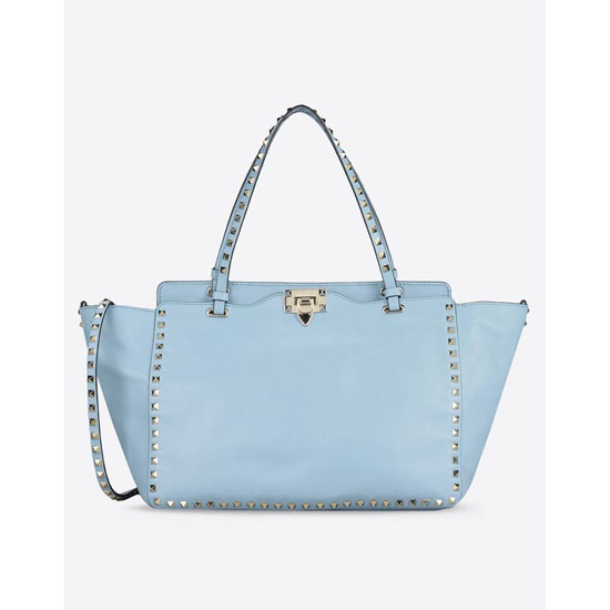 VALENTINO ROCKSTUD MEDIUM TOTE IW0B0970BOL W33 Outlet Online