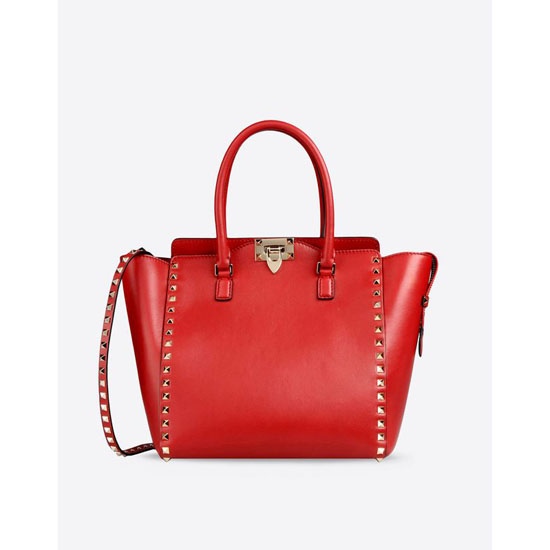 VALENTINO ROCKSTUD DOUBLE HANDLE BAG FWB00339-ABOL01 0RO Outlet Online