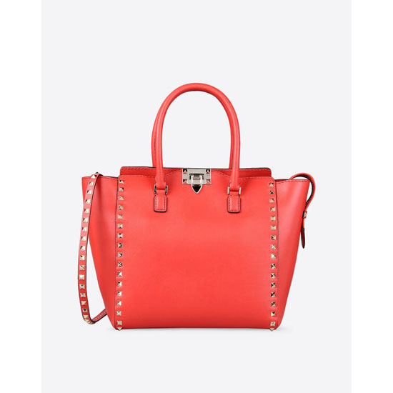 VALENTINO ROCKSTUD DOUBLE HANDLE BAG IW2B0339BOL-F28 Outlet Online