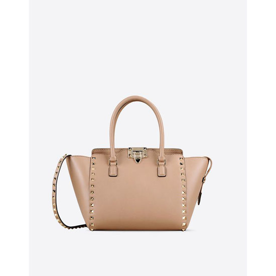 VALENTINO ROCKSTUD SMALL DOUBLE HANDLE BAG IW2B0540BOL Z83 Outlet Online