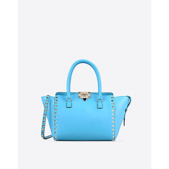 VALENTINO ROCKSTUD SMALL DOUBLE HANDLE BAG IW2B0540BOL O98 Outlet Online