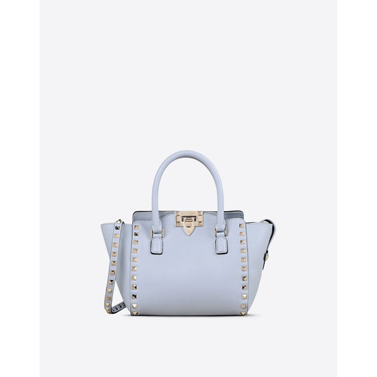 VALENTINO ROCKSTUD MINI DOUBLE HANDLE BAG IW0B0856BOL W33 Outlet Online
