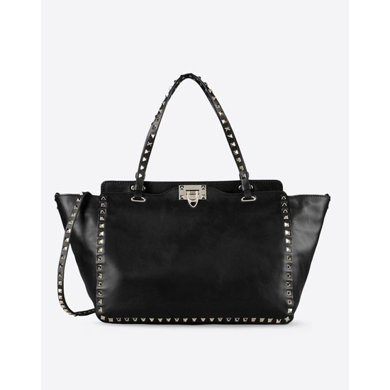 VALENTINO ROCKSTUD MEDIUM TOTE FWB00970-ABOL01 0NO Outlet Online