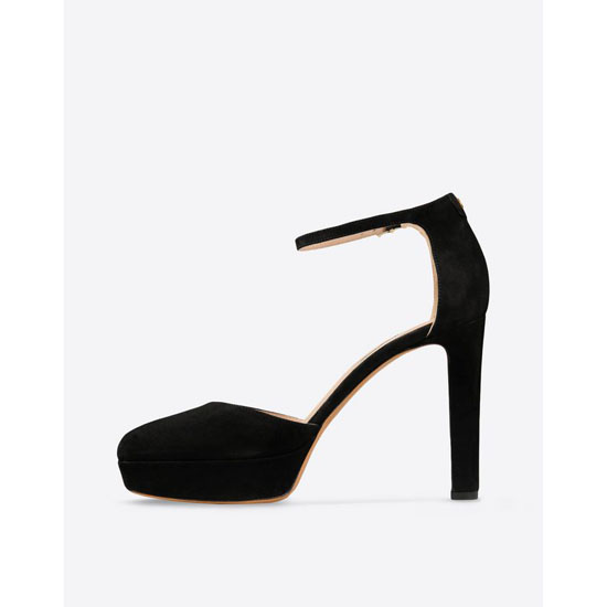VALENTINO ANKLE STRAP PUMP IN SUEDE HWS00637-ACMJ01 0NO Outlet Online