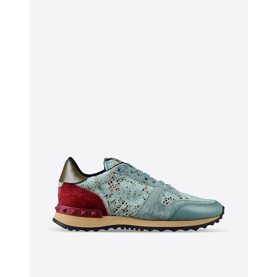 VALENTINO ROCKRUNNER IN MACRAM脡 LACE IW2S0291HLCO52 Outlet Online