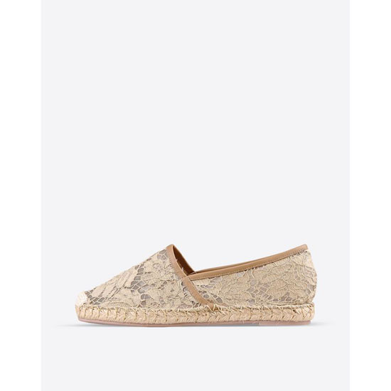 VALENTINO LACE ESPADRILLES IW2S0958LC7 E48 Outlet Online