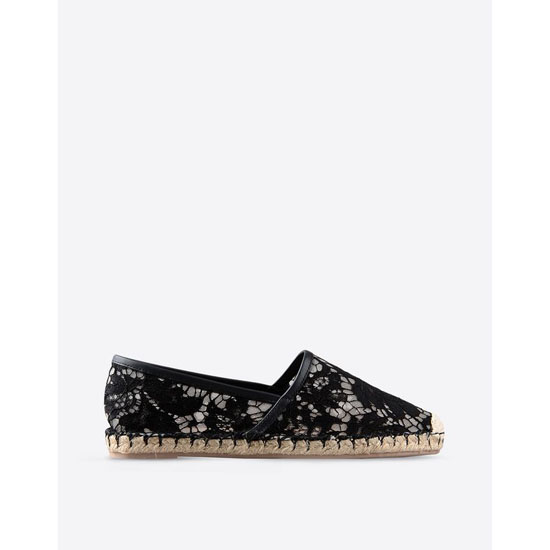 VALENTINO LACE ESPADRILLES IW2S0958LC70NO Outlet Online