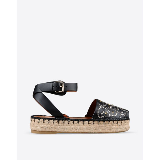 VALENTINO MICROSTUDS ESPADRILLES IW2S0784VLA 0NO Outlet Online