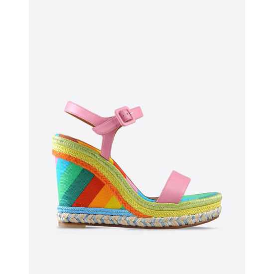 VALENTINO MULTICOLOR ESPADRILLES IW2S0811VCO N98 Outlet Online