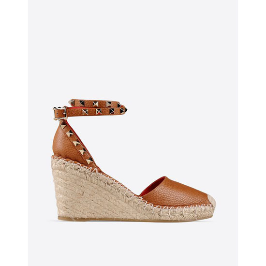 VALENTINO ROCKSTUD DOUBLE ESPADRILLES IW2S0780VTO L61 Outlet Online