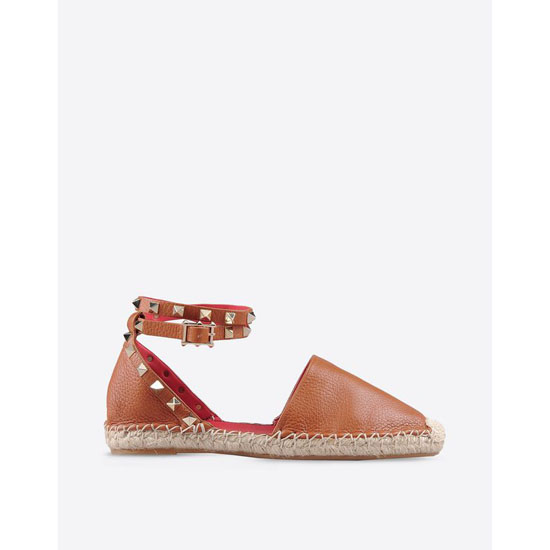 VALENTINO ROCKSTUD DOUBLE ESPADRILLES IW2S0530VTO L61 Outlet Online