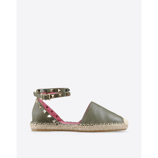 VALENTINO ROCKSTUD DOUBLE ESPADRILLES IW2S0530VTOY13 Outlet Online