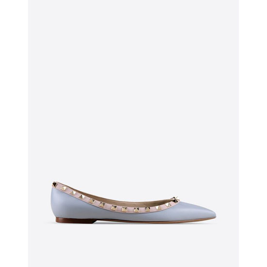 VALENTINO WATERCOLOR ROCKSTUD BALLERINA IW0S0403WST W38 Outlet Online