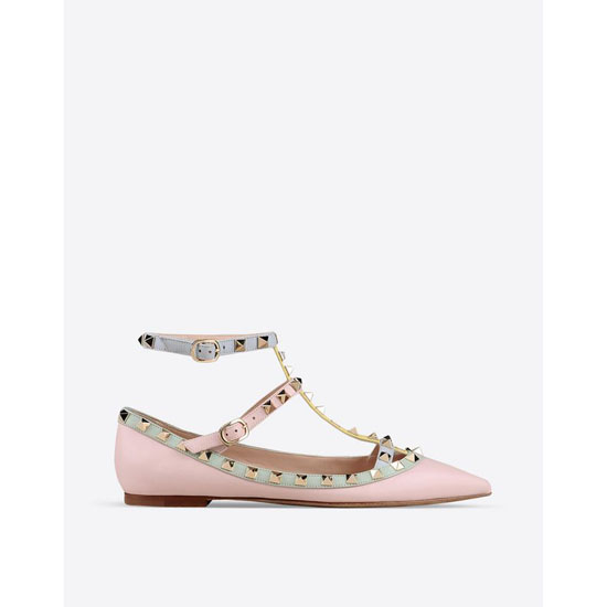VALENTINO WATERCOLOR ROCKSTUD BALLERINA IW0S0376WST W36 Outlet Online