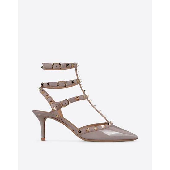 VALENTINO ROCKSTUD ANKLE STRAP IW2S0375VNW P45 Outlet Online