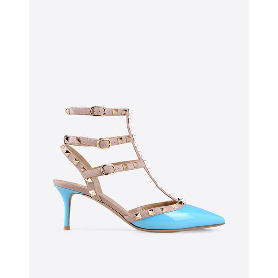 VALENTINO ROCKSTUD ANKLE STRAP IW2S0375VNW P26 Outlet Online