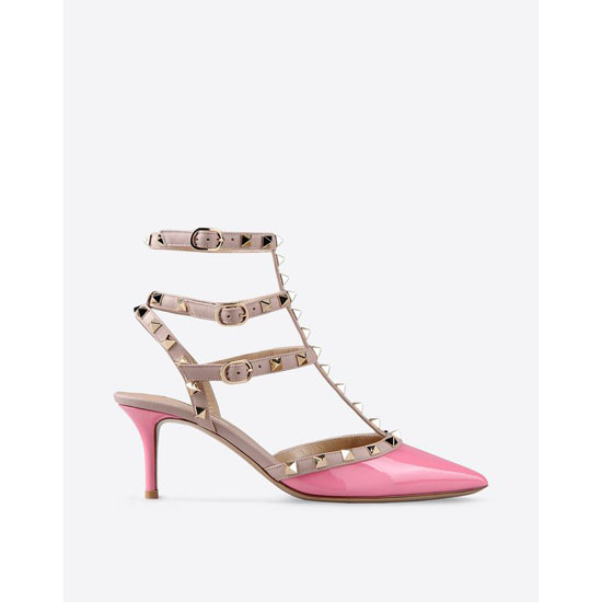 VALENTINO ROCKSTUD ANKLE STRAP IW2S0375VNWN41 Outlet Online