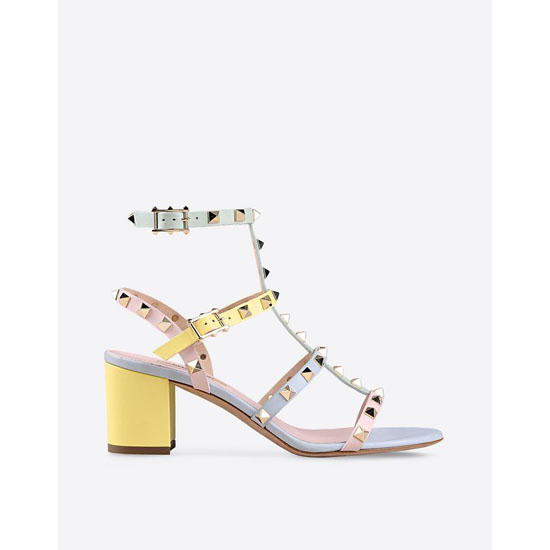 VALENTINO WATERCOLOR ROCKSTUD SANDAL IW0S0837WST W36 Outlet Online