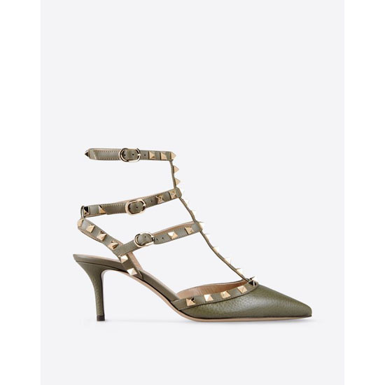VALENTINO ROCKSTUD ANKLE STRAP IW2S0375VCE Y20 Outlet Online