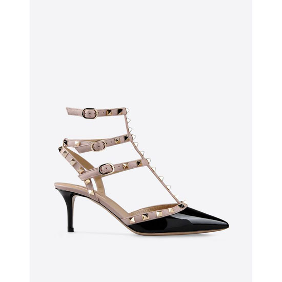 VALENTINO ROCKSTUD ANKLE STRAP IW2S0375VNWN91 Outlet Online